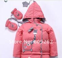 Зимняя одежда для девочек Factory directs baby down jacket