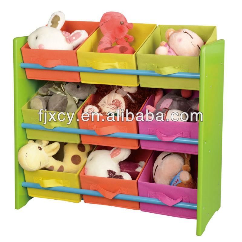 Lidl armoire de stockage de jouets kd porteurs - Etagere jouet bac rangement ...