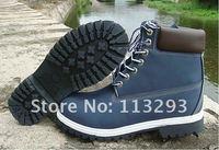 Открытый снега сапоги Мартин сапоги мужской женский пара обуви чистая кожа обувь 7-цвета моды