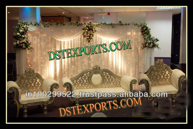 INDIAN WEDDING BEAUTIFUL LOVE SOFA