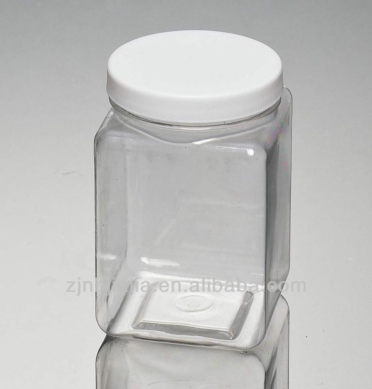 Wholesale Unique Round Plastic Jars Screw Lid For Food