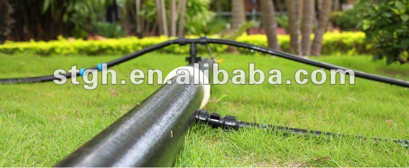 PE colocar o plano mangueira/PE plástico mangueira de água/anti-uv de irrigação por gotejamento mangueira