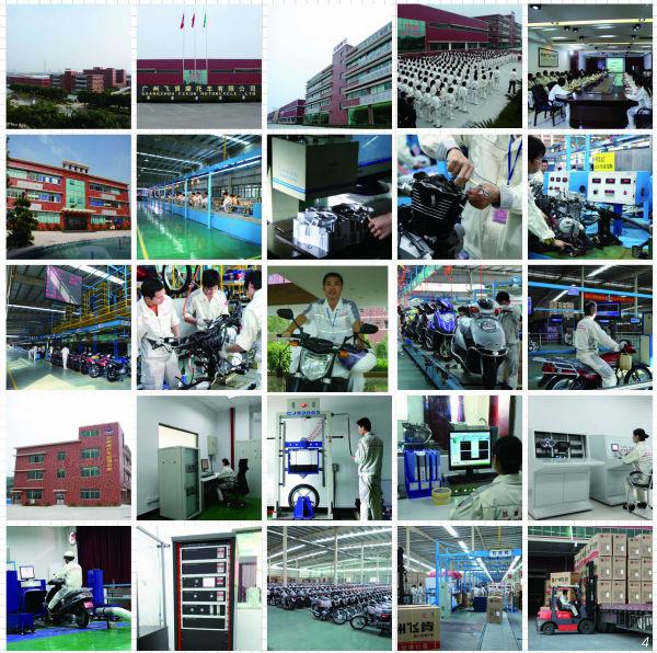 Guangzhou Fekon China sport 250cc motorcycle