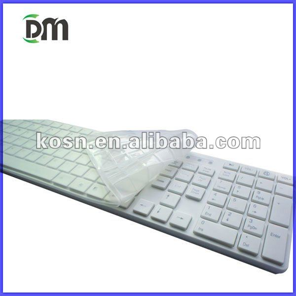hot-selling ultra-thin standard usb keyboard white