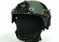 Товары для спорта Airsoft IBH Helmet with NVG Mount & Side Rail OD ship