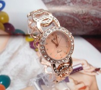 Наручные часы Rose Gold Sparkling crystal lady's fashion watch, wrist watch, AOY51072
