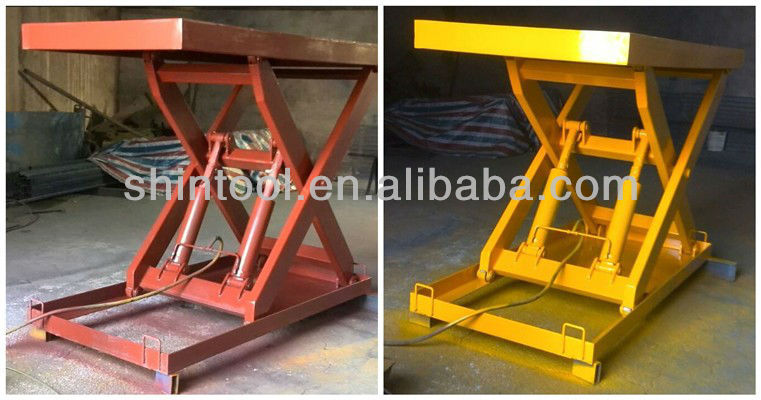 Stationary hydraulic lift table 2.5 ton