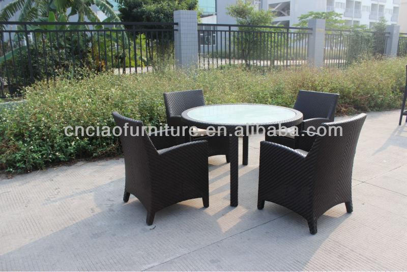 jardn mesa y sillas de mimbre juego de comedor de ratn