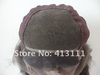 Парик 0.12 Lace +French Lace inner net for make wig Glueless Full lace wig cap construction with adjusted straps