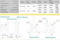 Запчасти и Аксессуары для радиоуправляемых игрушек EMAX BL2215/20 1200 RC