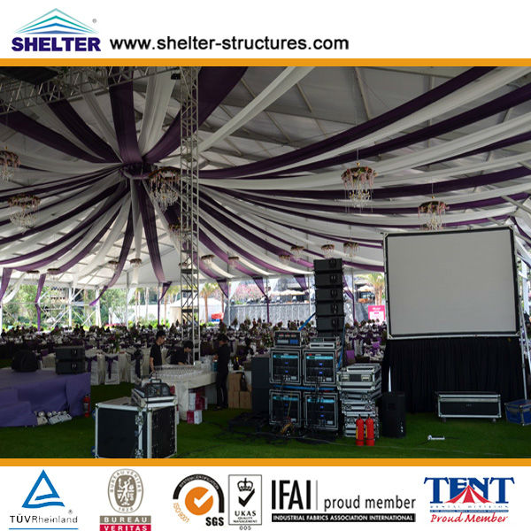 Party tentage in Singapore