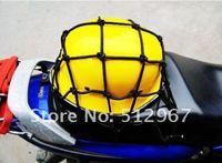 Wholesales Motorcycle ATV Helmet Cargo Luggage Mesh Bungee Web Net free shipping NET-101