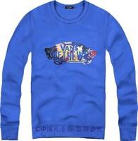Женские толстовки и Кофты Tide Brand Harajuku van street Men Women Loose Long Sleeve Hoody And Sweatshirt Cotton Hip Hop Sports hoodies