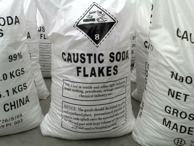 99% caustic soda flakes (factory)