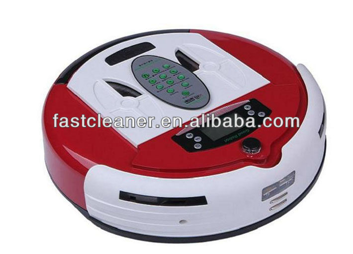 Dirt Detect Larger Dustbin Robotic Vacuum Cleaner