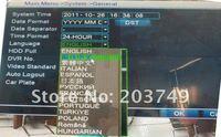 h.264 8-канальный сетевой цифровой видеорегистратор, 8-канальный dvr, поддержка 8ch cif realtime запись, 7318v