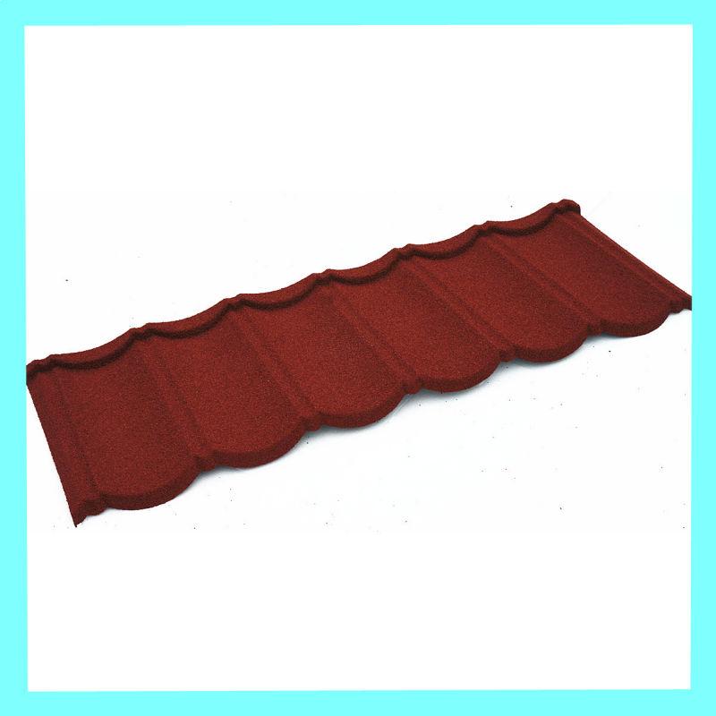 sunstone maintenance free terracotta alu metal roof tile. Black Bedroom Furniture Sets. Home Design Ideas