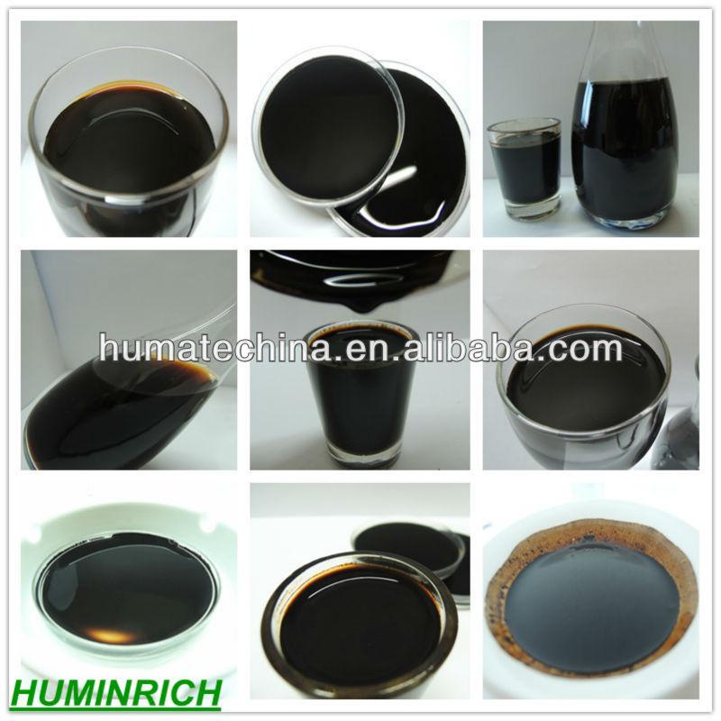 Black peat moss-Potash humate liquid fertilizer