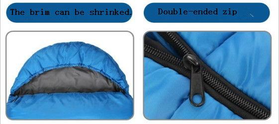 2013 New designed torpedo Sleeing Bag with a Hood