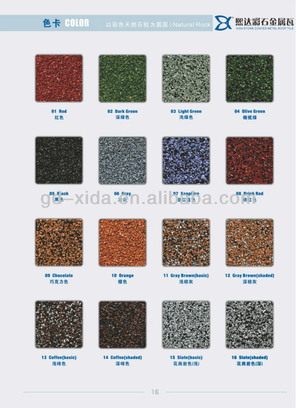 Popular asphalt solar roof tiles