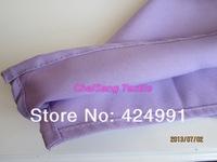 300pcs высшего качества завод прямого фиолетовый полиэстера салфетка 45x45cm для событий & партии украшения свадьбы