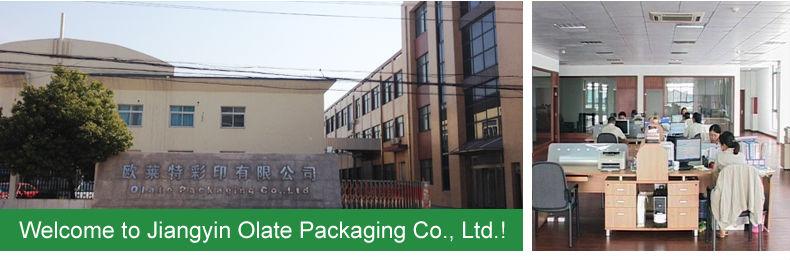 Aluminum Foil bag food packaging for fruit and snack