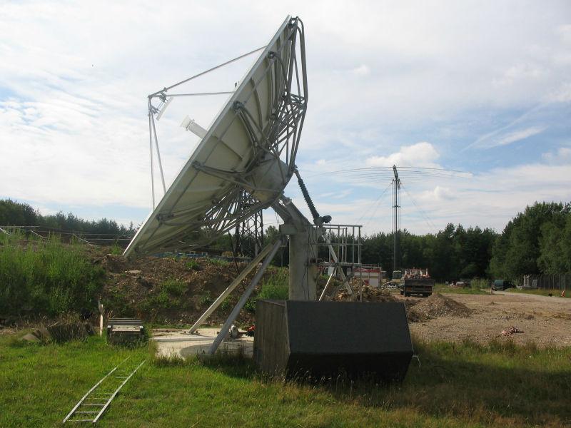6.2m transmitting and receiving antenna