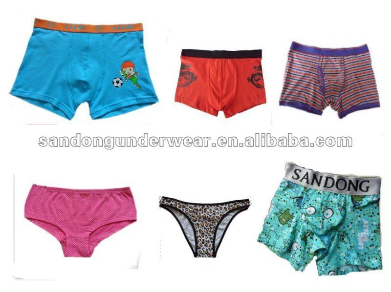 Boys funny cut colorful underwear