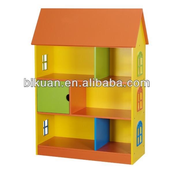 NEW lovely kids house shape shelf