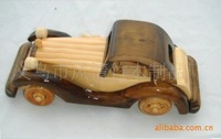 free shipping The supply of wholesale, wood crafts, wooden toys,8 inch car,  model,