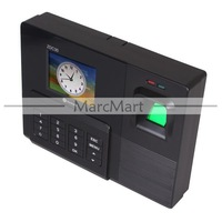 "Прибор записи посещаемости по отпечаткам пальцев Realand 2.8"" Color Display TFT Fingerprint Time Attendance Time Clock ZDC30, punched card machine, TFT TCP/IP Time Recorder"