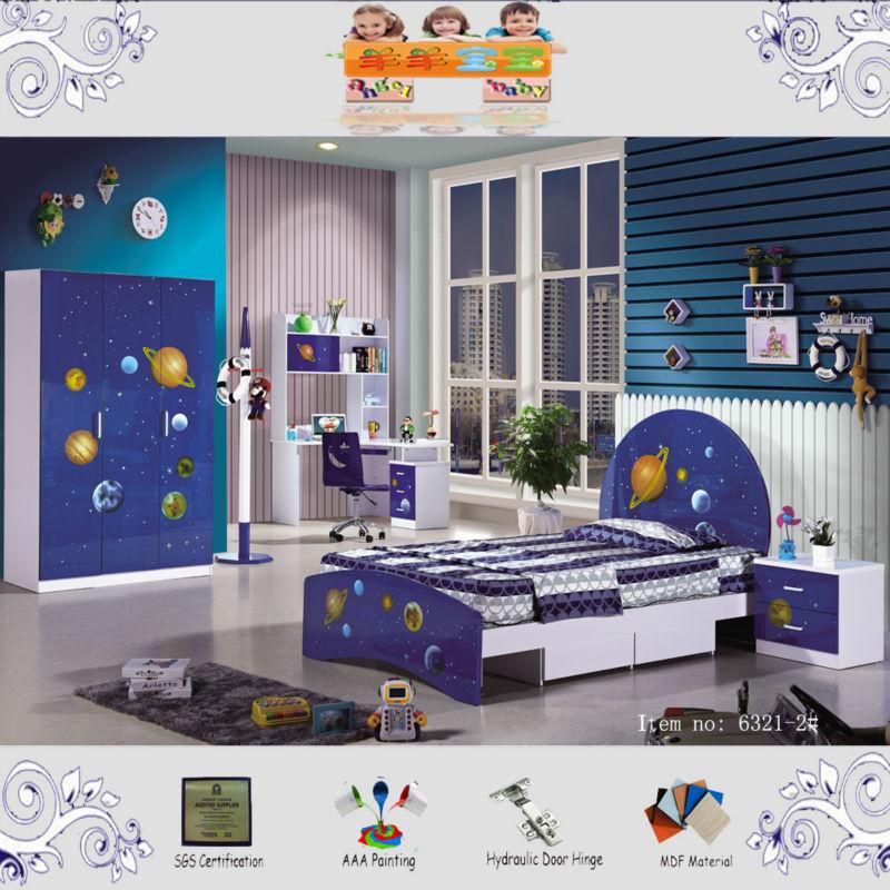 Slaapkamer kinderen de slaapkamer van blauwe kinderen stock leuke slaapkamer accessoires - Kleur kinderen slaapkamer ...