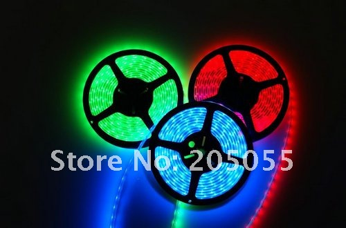 10M 5050SMD RGB Flexible LED Strip Lights 60Led/M 2 x 5M Waterproof IP65 + 120W Music IR Controller Sound activated controller