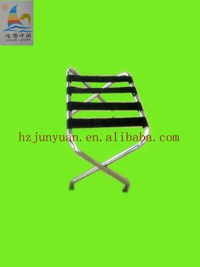 Luggage Rack for hotels chrome luggage rack
