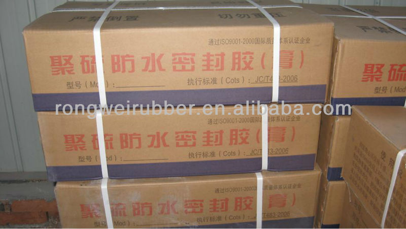Two Part polysulfide Silicone Structural Sealant
