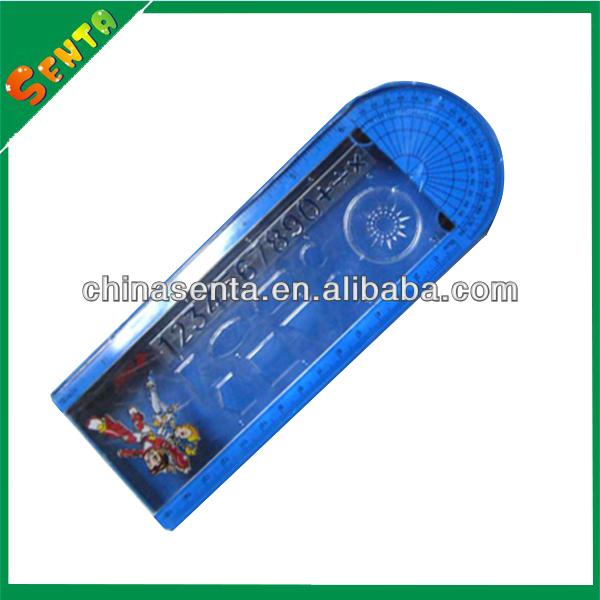 plastic pencil case for school children