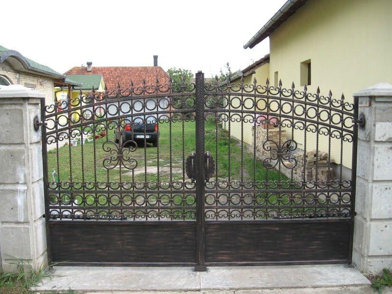 cancello in ferro battuto design-vetrino-Id prodotto:462363602-italian ...