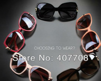 Женские солнцезащитные очки 2013 Fashion sunglasses square women sun glasses or retail eyewear 5181