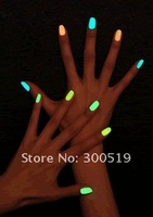B1014 Popular Luminous Nail Polish nail art / Fluorescent nail Enamel, 20colors Available