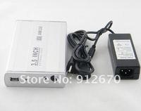 "Корпус для HDD 3.5"" usb 2.0 hard disk box serial sata port hdd external case hard-disk cartridge 1pc #6535"