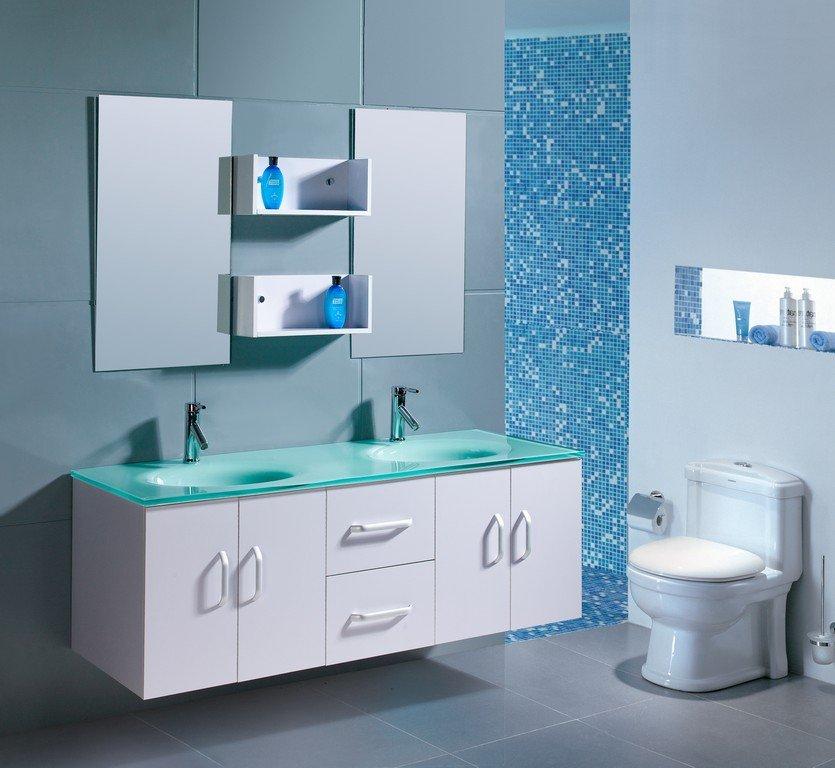 Mobile bagno doppio lavabo mondo convenienza boiserie in - Mobili lavabo bagno offerte ...