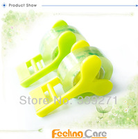 Диспенсер для скотча Plastic Paper Sticky Cutter with custom logo print for al 120 pcs/lot