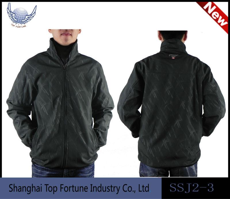 berber winter outdoor jacket blue bonded jacket