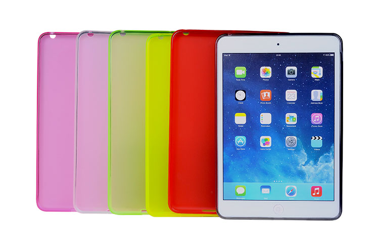 Hot selling tpu slim case for ipad mini 2 retina