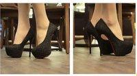 Туфли на высоком каблуке 2012 Stiletto Sexy Sequin Heeled Bridal Shoes