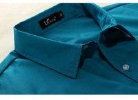 Мужская повседневная рубашка Kingtime Men's Summer Thin Wear Candy Color Short Sleeve Shirt KTE02 SIZE:M-XXXL Asian size