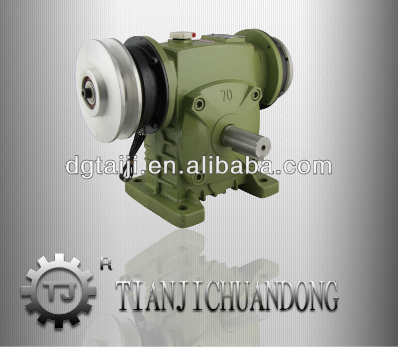 Supplying WPA series worm gear speed reducer with brake