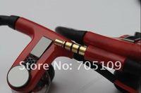 Наушники 2012 Cheap Hot items Ear Hooks headphone, Portable headset, Mini sport headphoe, with control talk microphone in box