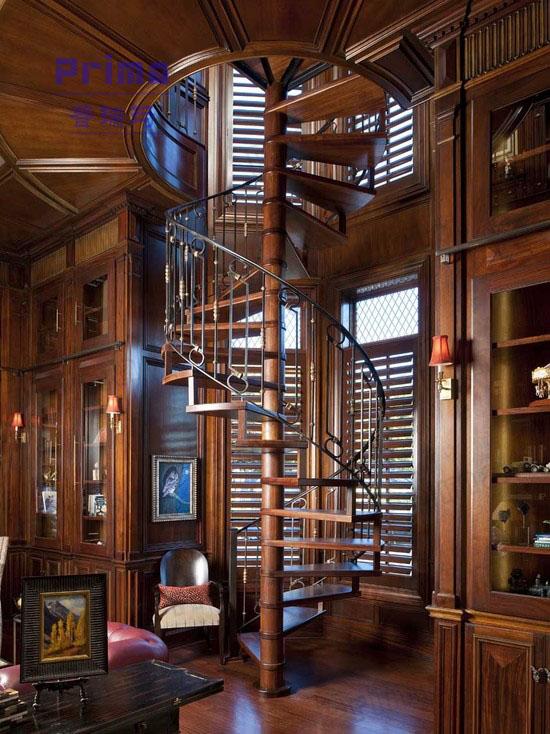 Vintage/elegante de hierro forjado escalera diseño/escaleras de ...