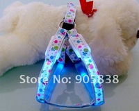 Ошейники и Поводки для собак New Product! The Colorful lollipops Series-LED Dog Harness TZ-PET3605 Flashing dog harness MOQ 3 Pieces